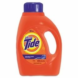 Ultra Liquid Tide Laundry Detergent, 50 oz. Bottle, 6/Carton