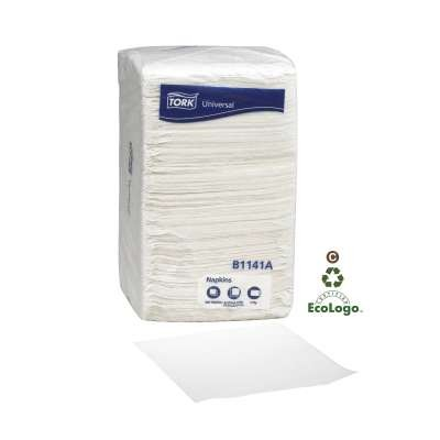 Universal Beverage Napkins, 1-Ply, 10 x 10, White, 278/Pack