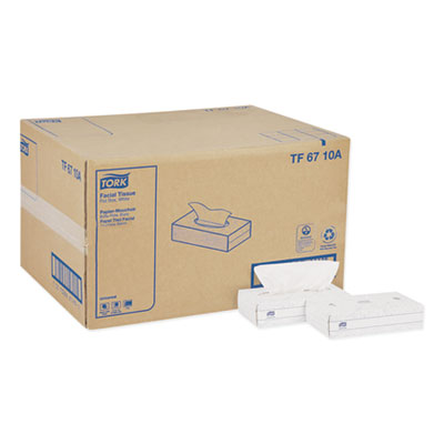 Universal Facial Tissue, 2-Ply, White, 100 Sheets/Box, 30 Boxes/Carton