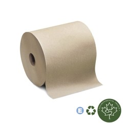 Universal Hand Roll Towel, One-Ply, Natural, 7 9/10 x 600'