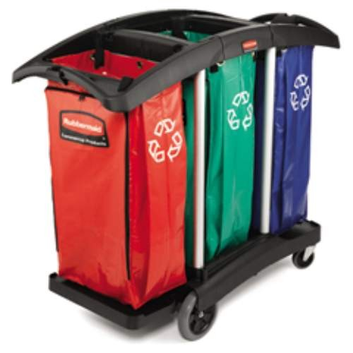 Universal Recycling Bag Set Of 3 Red, Green, Blue