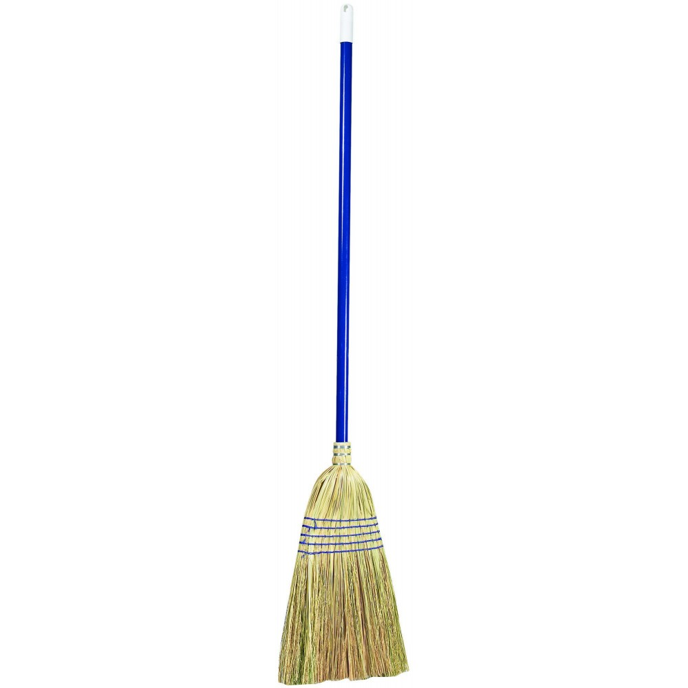 Winco BRM-55 Upright Broom with Metal Handle 55""