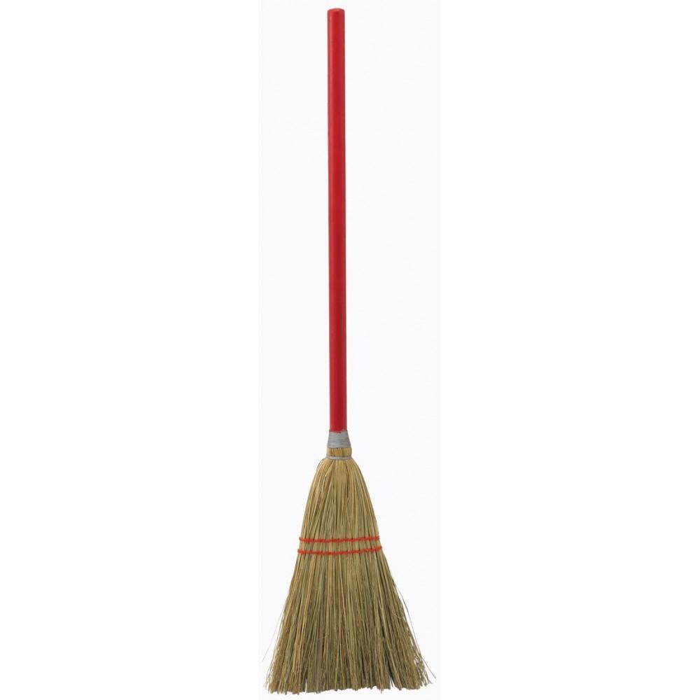 Upright Broom w/ Wood Handle, 34
