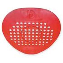 Urinal Screen Cerise (Red) 12/Bx