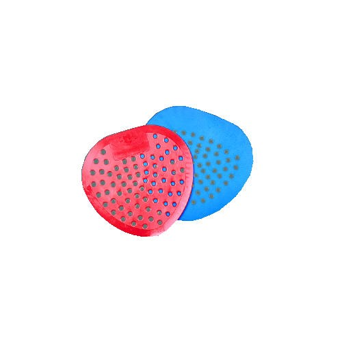 Urinal Screen with Bubble Gum Scent, Blue