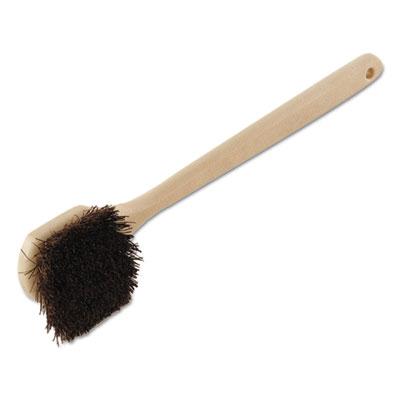 Utility Brush, Palmyra Bristle, Plastic, 20