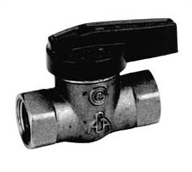 Franklin Machine Products  158-1018 Valve, Gas Shutoff (1/2Npt )