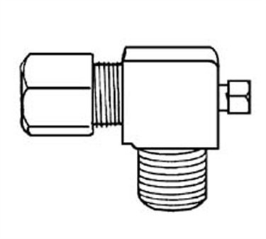 Franklin Machine Products  154-1023 Valve, Pilot (Adj, 3/16Odx1/8 )