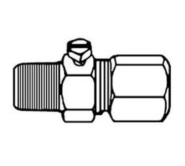 Franklin Machine Products  154-1033 Valve, Pilot (Adj, F/ 1/4Tube )