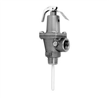 Franklin Machine Products  117-1114 Watts Temperature and Pressure Relief Valve 150 PSI