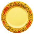 """G.E.T. Enterprises WP-10-VN Venetian Melamine Wide Rim Plate 10-1/2"""""""