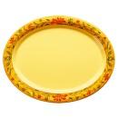 """G.E.T. Enterprises OP-135-VN Venetian Melamine Oval Platter, 13-1/2"""" x 10-1/4"""""""