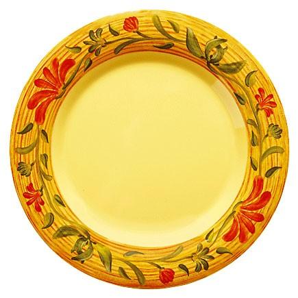 """G.E.T. Enterprises WP-6-VN Venetian Melamine Wide Rim Plate 6-1/2"""""""