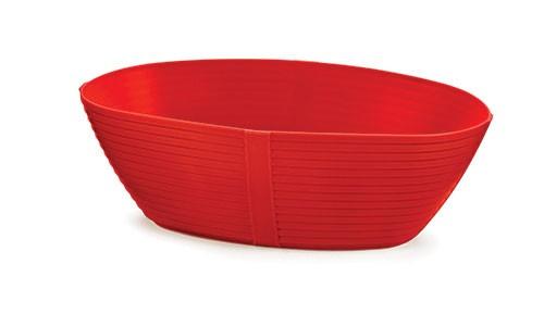 "Oval Venetian Plastic Basket, 9-1/4"" x 5-3/4"" x 3"""