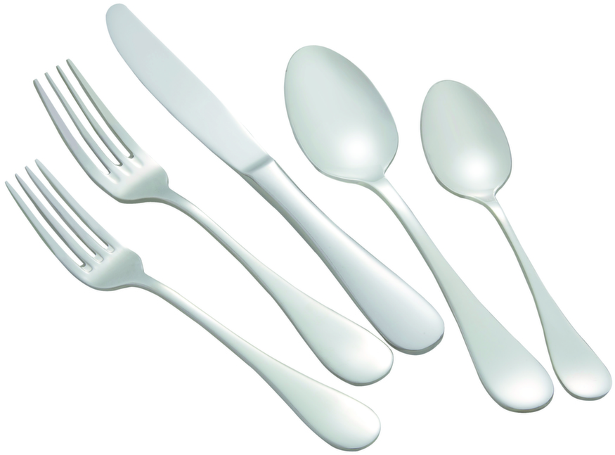 Winco VENICE-HVY Venice Extra Heavy Weight 5-Piece Place Setting for 12 (60/Pack)