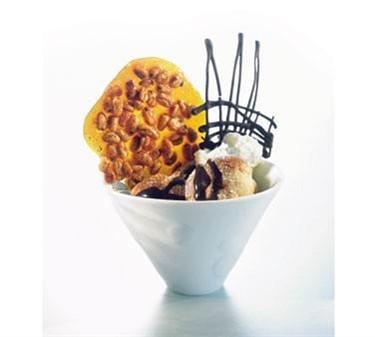 Cardinal D3600 Arcoroc Versatile 11-3/4 oz. Funnel-Style Glass Dessert Bowl, 4-7/8' Dia.