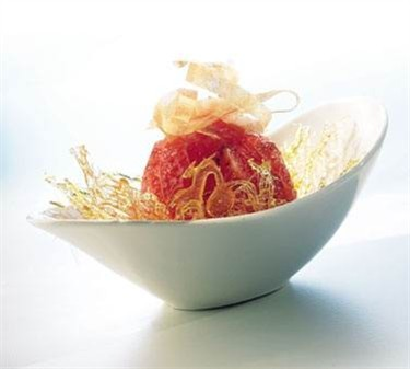 Versatile Arcoroc 8-1/4 Oz. Boat Glass Dessert Bowl - 7-5/8' Dia.