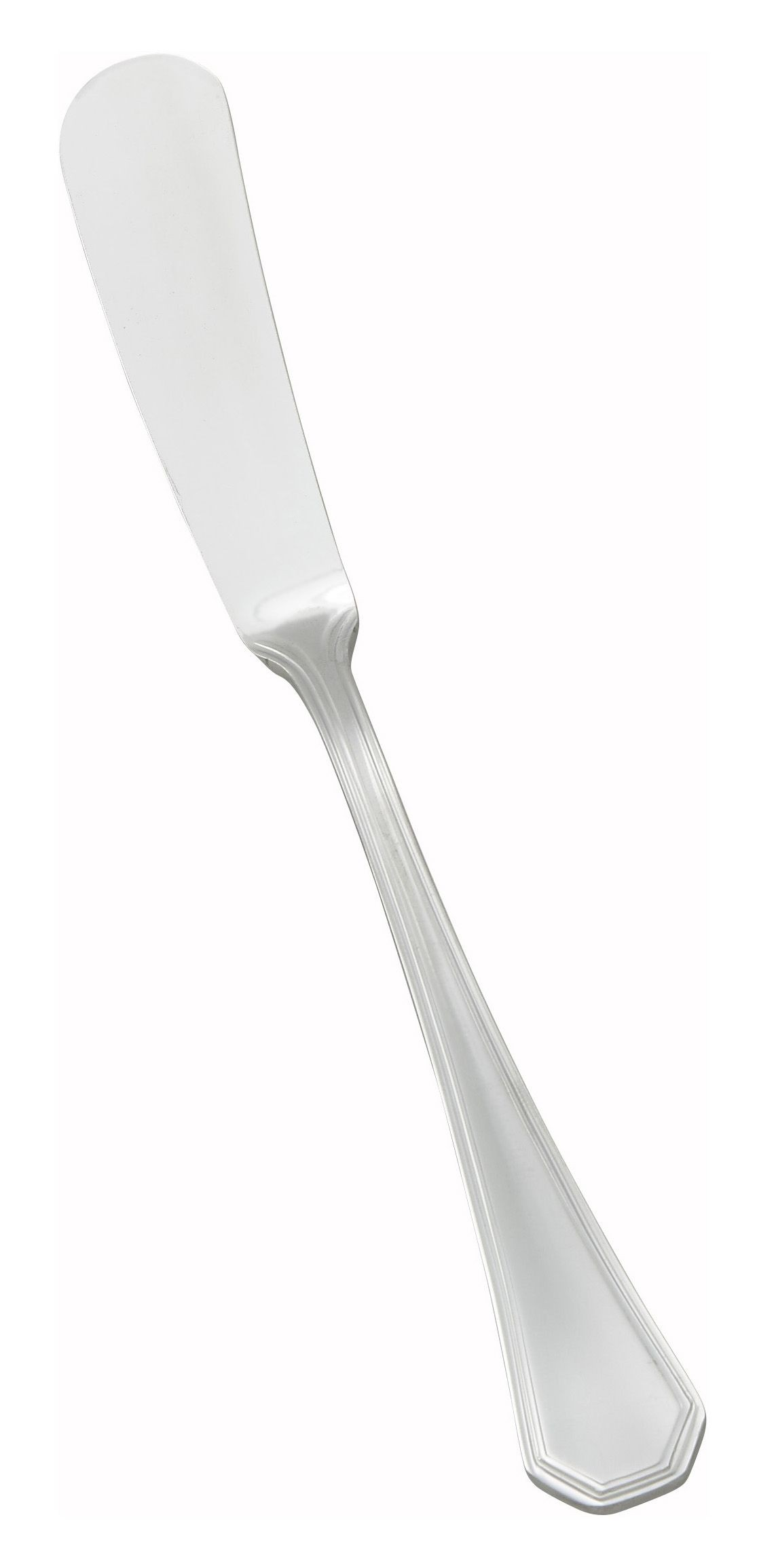 Victoria Extra Heavy 18/8 Stainless Steel Butter Spreader (12/Pack)