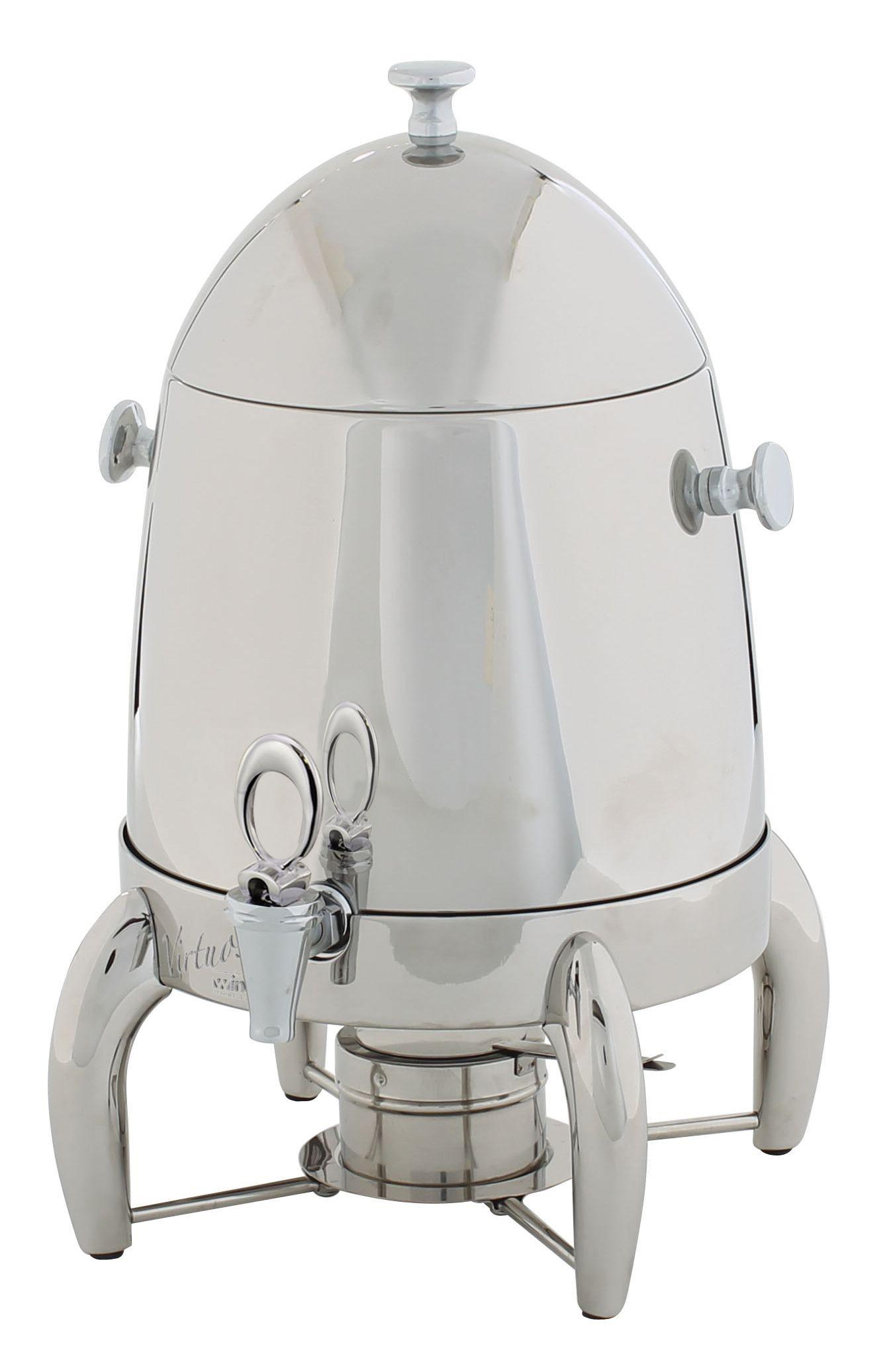Winco 903B Virtuoso Stainless Steel Coffee Urn, 3 Gallon