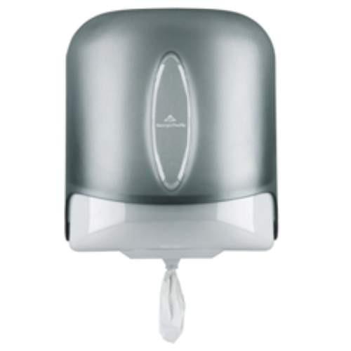 Vista Center-Pull Paper Towel Dispensor, Smoke