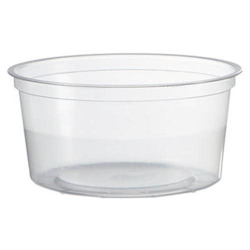 WNA Clear Deli Container, 12 oz., 500/Carton
