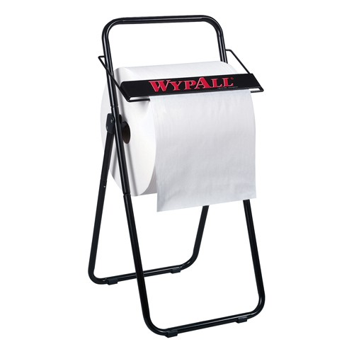WYPALL Jumbo Roll Dispenser, 16 3/4 x 18 1/2 x 33, Black