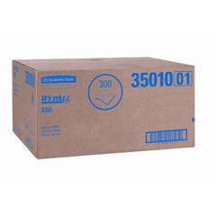 WYPALL X60 TERI Professional Towels, Flat Sheet, 22 1/2 x 39, White, 100/Box