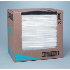 WYPALL X60 TERI Reinforced Towels, Flat Sheet, 12 1/2 x 16 4/5, White, 150/Box