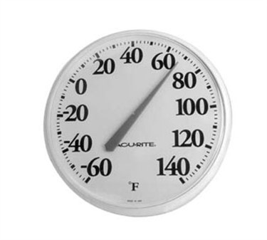 Franklin Machine Products  138-1052 Refrigerator/Freezer Large Dial Thermometer -60° F To 140° F
