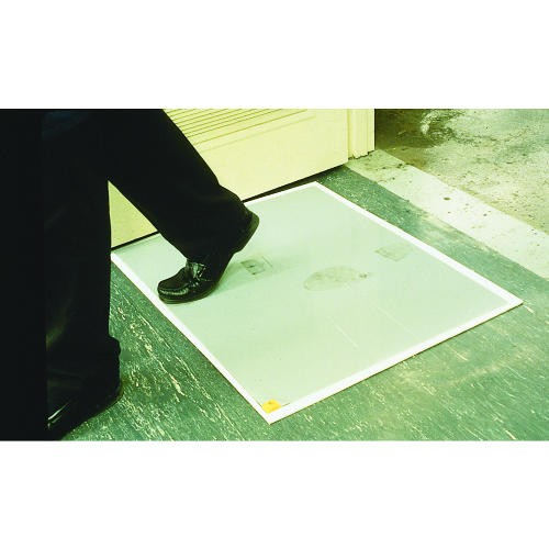 Walk-N-Clean, Clean Step Dirt Grabber Mat 60-Sheet Refill Pad, 30w x 24h, 4/Carton, White