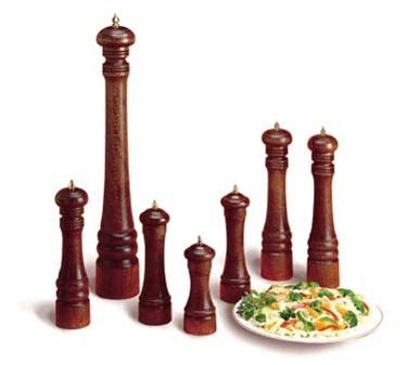 """TableCraft PM2106 Walnut Wood Finish Pepper Mill 6"""""""