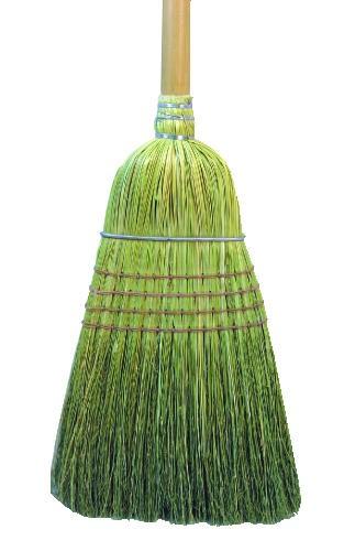 Warehouse Broom, Yucca/Corn Fiber Bristles, 42
