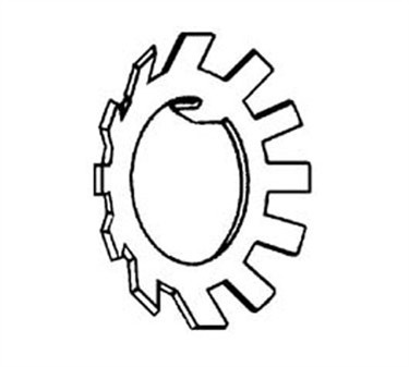 Franklin Machine Products  203-1048 Washer, Lock (Knife Plate )