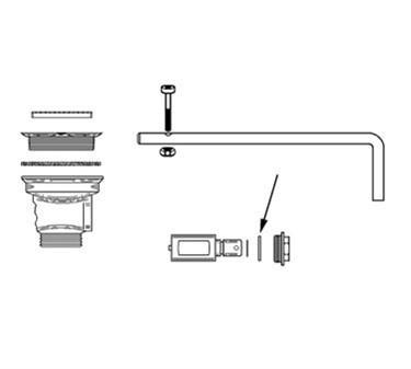 Franklin Machine Products  113-1069 Rotary Twist Waste Washer By Fisher For Old Style Rotary Twist Waste