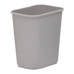Wastebasket, 8 Quart, Beige