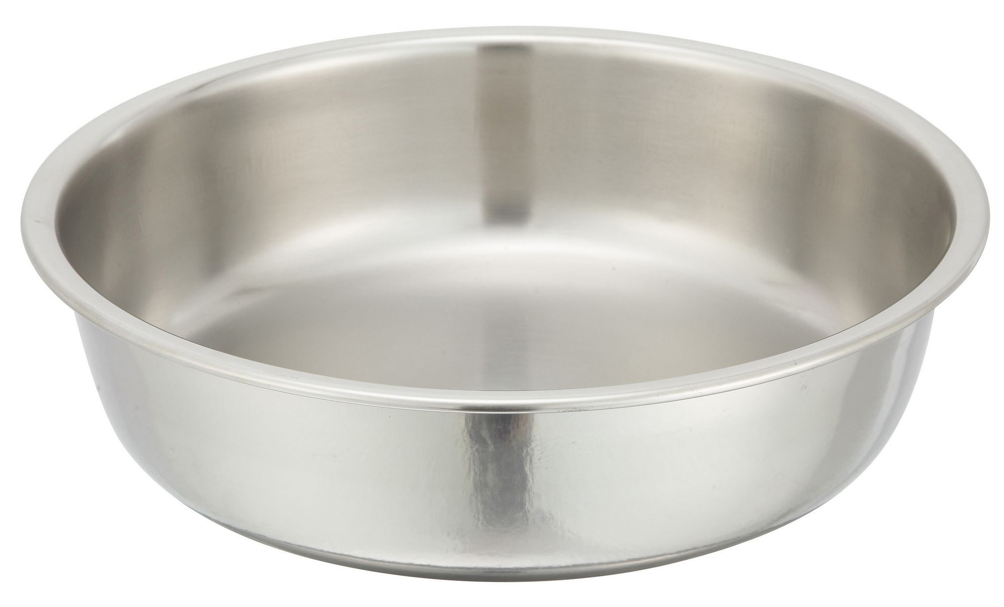 Winco 203-WP Water Pan for 4 Qt. Gold-Accented Malibu Round Chafer 203
