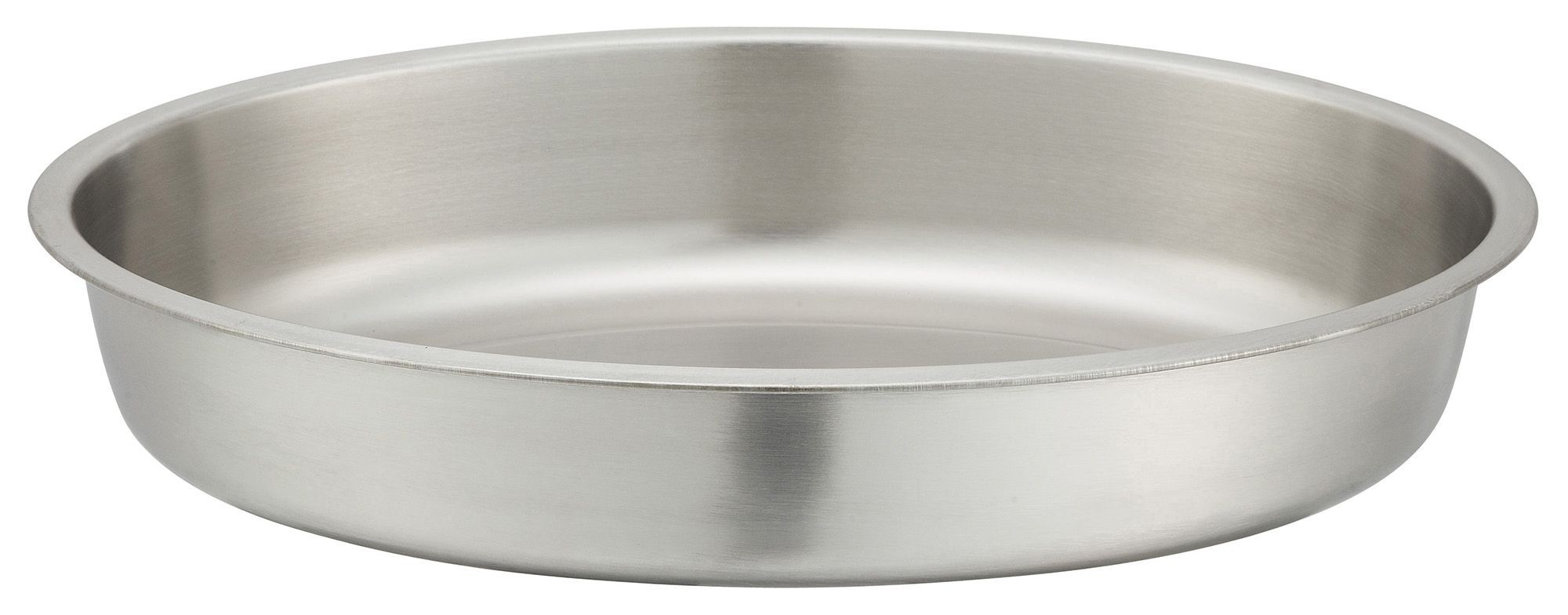 Winco 202-WP Water Pan for 6 Qt. Gold-Accented Malibu Oval Chafer 202