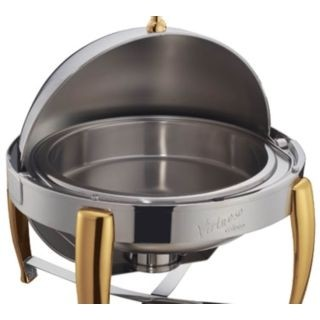 Water Pan for 6 Qt Virtuoso Roll-Top Chafers (Models 103A and 103B)