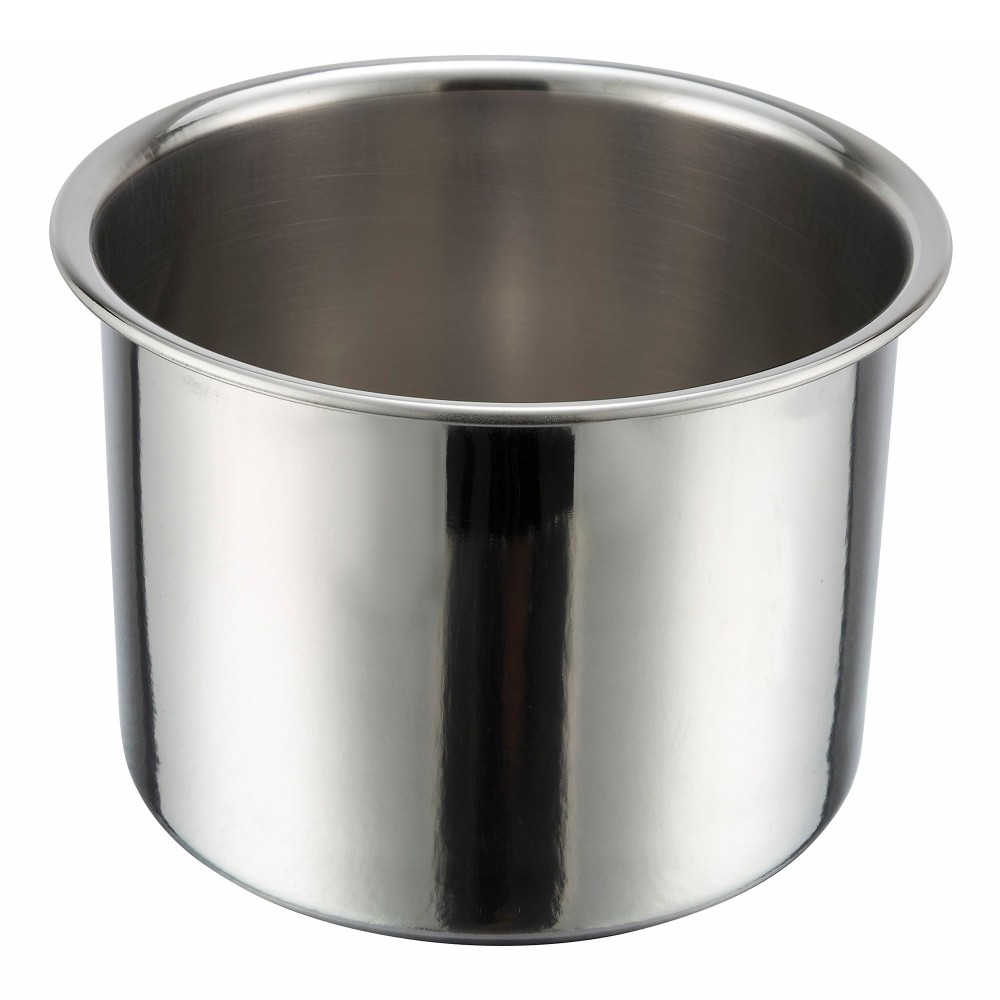 Winco 207-WP Water Pan for Deluxe 7 Qt. Stainless Steel Soup Chafer 207