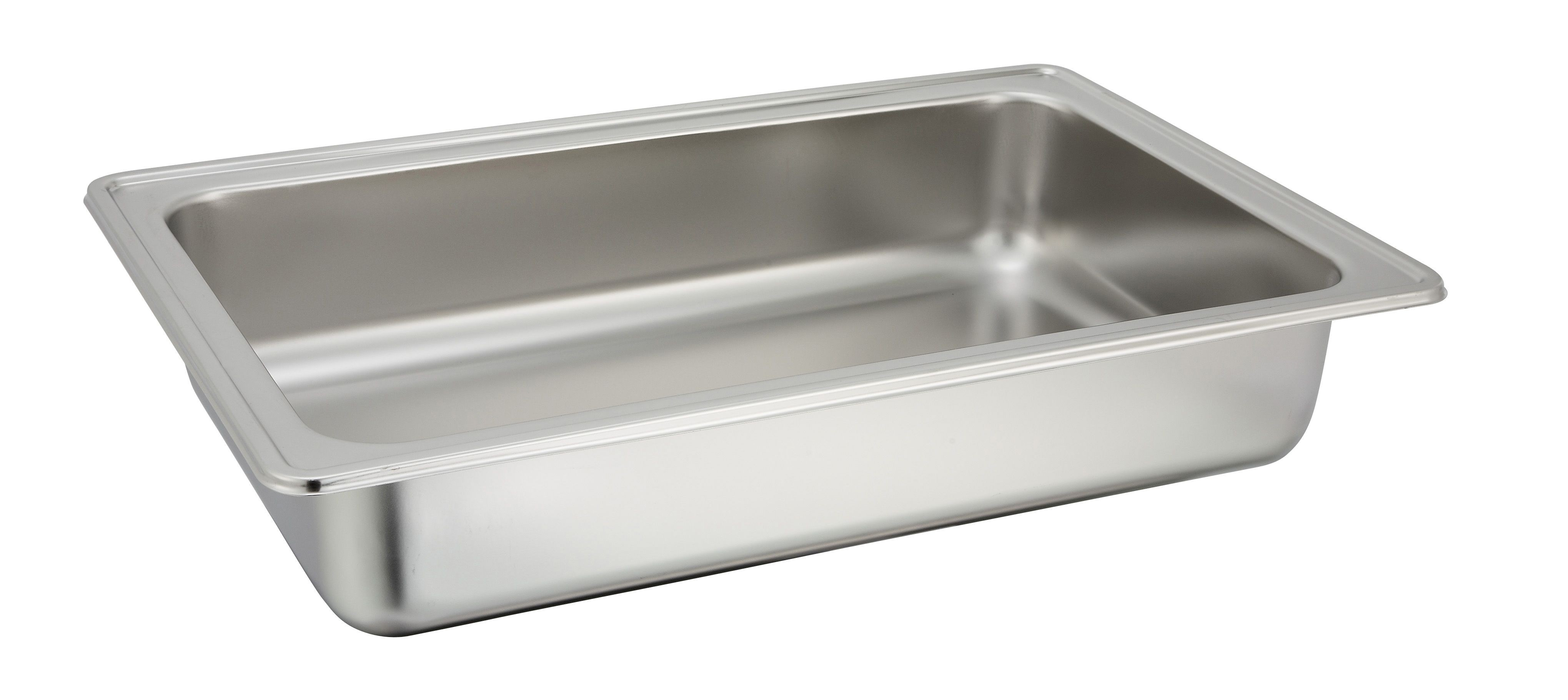 Winco 601-WP1 Stainless Steel Chafer Water Pan for 601
