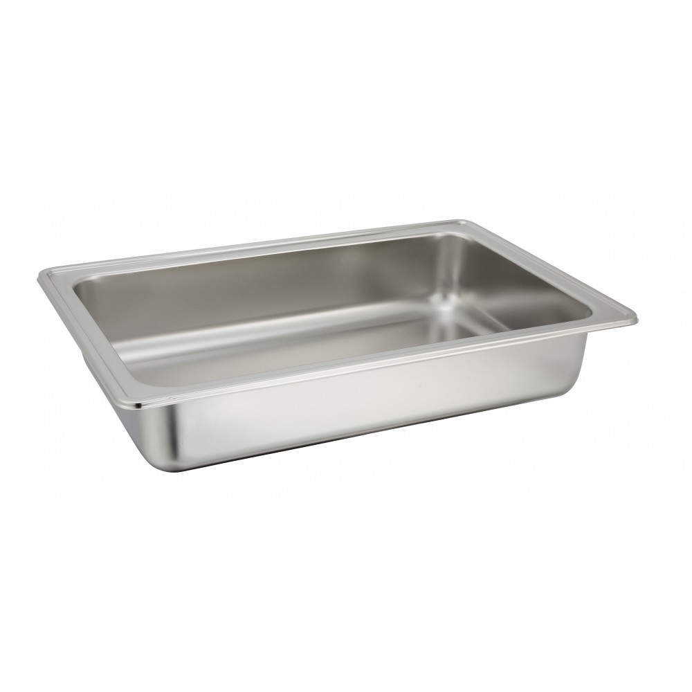 Water Pan for 8 Qt. Madison Oblong Roll-Top Chafer (Model 601)