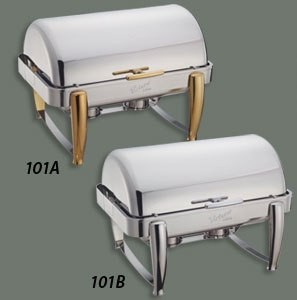 Water Pan for 8 Qt. Virtuoso Roll-Top Chafers (Models 101A and 101B)