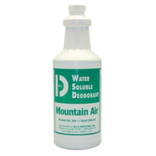 Water-Soluble Concentrated Deodorant, Bottle Lemon, 32 Oz