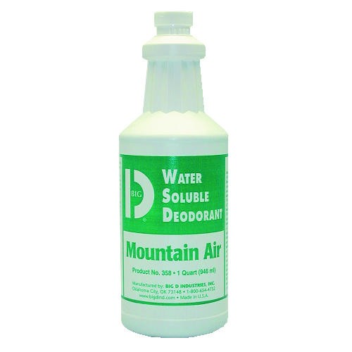 Water-Soluble Concentrated Deodorant Bottle, Moutain Air, 32 Oz