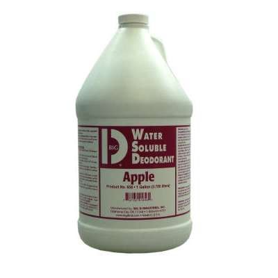 Water Soluble Deodorant, Apple, 1Gal, Bottle