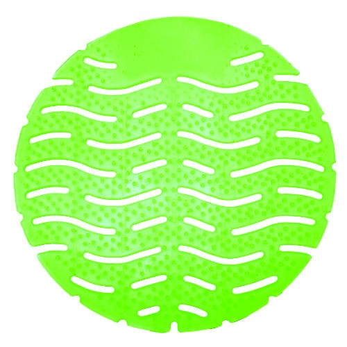 Wave Urinal Deodorizer Screen, Lasts 30 Days, Green, Cucumber Melon Fragrance