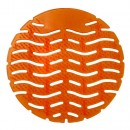 Wave Urinal Deodorizer Screen, Lasts 30 Days, Orange, Mango Fragrance