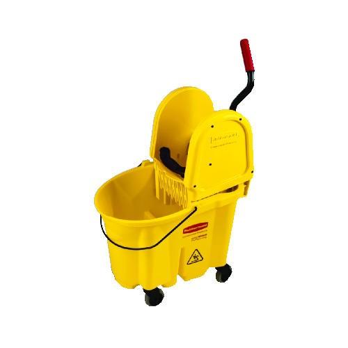 Wavebrake Downward Pressure Mop Wringer Combo, 35 Quart, Brown