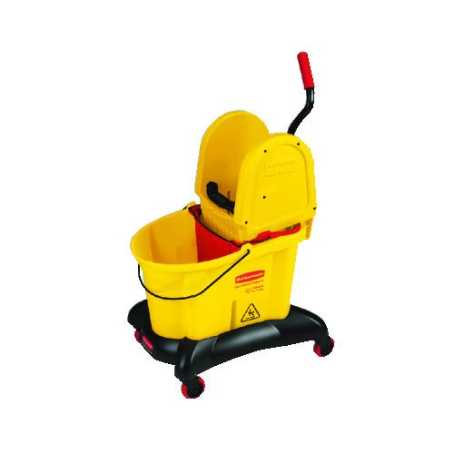 Wavebrake Downward Pressure Mop Combo, 35 Quart, Yellow [ rcp 7677 yel ]