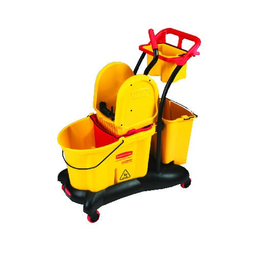 Wavebrake Downward Pressure Mop Troll, 35 Quart, Yellow